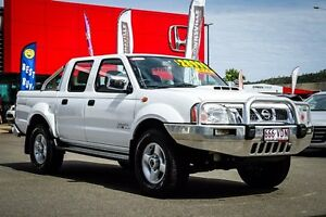 2014 Nissan Navara D22 S5 ST-R White 5 Speed Manual Utility Garbutt Townsville City Preview