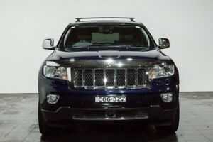2012 Jeep Grand Cherokee WK MY2012 Overland Blue 6 Speed Sports Automatic Wagon