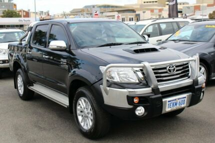 2014 Toyota Hilux KUN26R MY14 SR5 Double Cab Metal Storm 5 Speed Automatic Utility Northbridge Perth City Preview