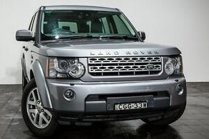 2012 Land Rover Discovery 4 Series 4 MY12 TdV6 CommandShift Grey 6 Speed Sports Automatic Wagon Rozelle Leichhardt Area Preview