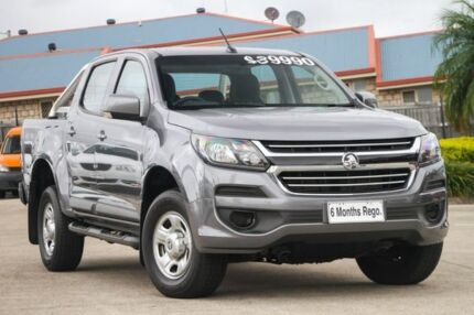2017 Holden Colorado RG MY18 LS Pickup Crew Cab Grey 6 Speed Sports Automatic Utility Hillcrest Logan Area Preview