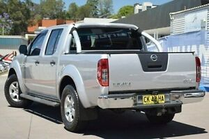 2010 Nissan Navara D40 ST-X Silver 5 Speed Automatic Utility Thornleigh Hornsby Area Preview