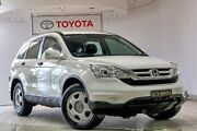2010 Honda CR-V RE MY2010 4WD White 5 Speed Automatic Wagon Waterloo Inner Sydney Preview