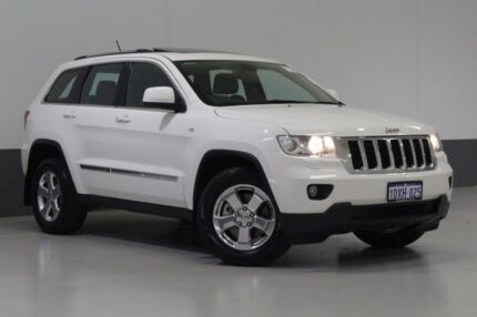 2012 Jeep Grand Cherokee WK MY12 Laredo (4x4) White 5 Speed Automatic Wagon Bentley Canning Area Preview