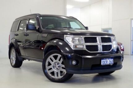 2009 Dodge Nitro KA MY09 SX Black 4 Speed Automatic Wagon Myaree Melville Area Preview