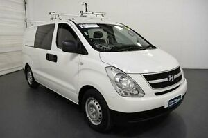 2012 Hyundai iLOAD TQ2-V MY12 Crew Cab Creamy White Automatic Van Moorabbin Kingston Area Preview