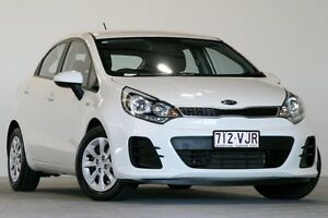 2014 Kia Rio UB MY15 S White 4 Speed Automatic Hatchback Coopers Plains Brisbane South West Preview