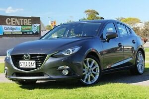 2013 Mazda 3 BM5438 Grey 6 Speed Sports Automatic Hatchback Christies Beach Morphett Vale Area Preview