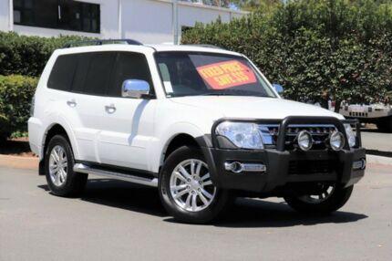 2015 Mitsubishi Pajero NX MY16 GLS White 5 Speed Sports Automatic Wagon Acacia Ridge Brisbane South West Preview