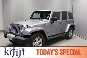 2013 Jeep Wrangler Unlimited 4WD UNLIMITED SAHARA Navigation (GP