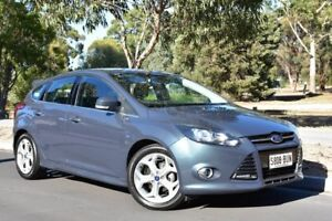 2013 Ford Focus LW MKII Sport Grey 5 Speed Manual Hatchback St Marys Mitcham Area Preview