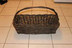 Homemade Wicker Basket