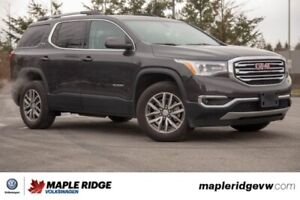 2018 Gmc Acadia SLE NO ACCIDENTS, BC CAR, ONE OWNER
