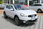 2012 Nissan Dualis J10W Series 3 MY12 Ti-L Hatch X-tronic 2WD Silver 6 Speed Constant Variable Alfred Cove Melville Area Preview