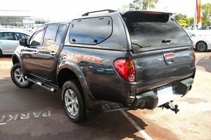 2012 Mitsubishi Triton MN MY12 GLX-R Double Cab Grey 5 Speed Sports Automatic Utility Wilson Canning Area Preview