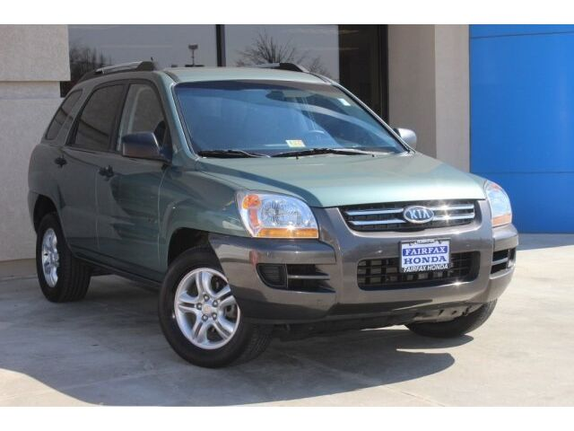 Kia : Sportage LX LX SUV 2.7L CD 4X4 Traction Control Stability Control Tow Hooks Aluminum Wheels