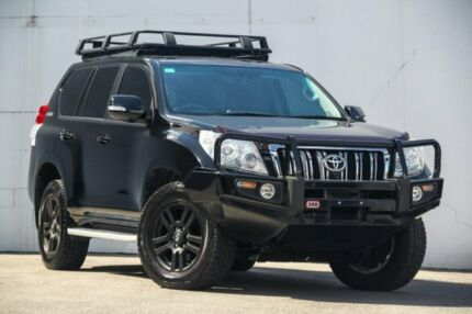 2011 Toyota Landcruiser Prado KDJ150R Kakadu Black 5 Speed Sports Automatic Wagon Albion Brisbane North East Preview