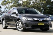 2012 Toyota Camry AHV40R Hybrid Graphite 1 Speed Continuous Variable Sedan Greenacre Bankstown Area Preview