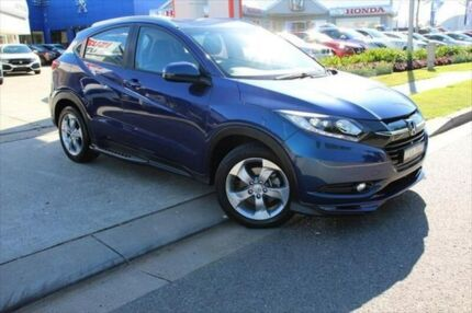 2015 Honda HR-V MY15 Limited Edition Blue 1 Speed Constant Variable Hatchback Port Macquarie Port Macquarie City Preview