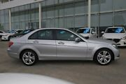2012 Mercedes-Benz C200 W204 MY13 BlueEFFICIENCY 7G-Tronic + Silver 7 Speed Sports Automatic Sedan Kirrawee Sutherland Area Preview