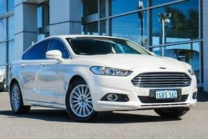2016 Ford Mondeo MD Trend SelectShift White 6 Speed Sports Automatic Hatchback Morley Bayswater Area Preview