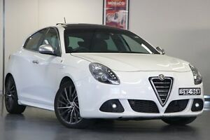 2011 Alfa Romeo Giulietta QV QV White 6 Speed Manual Hatchback North Willoughby Willoughby Area Preview