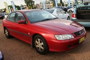 2003 Holden Commodore VY Acclaim Red 4 Speed Automatic Sedan Colyton Penrith Area Preview