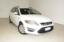 2013 Ford Mondeo MC LX PwrShift TDCi White 6 Speed Sports Automatic Dual Clutch Wagon Edgewater Joondalup Area Preview