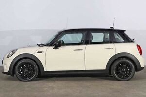 2016 Mini Hatch F55 Cooper Pepper White 6 Speed Automatic Hatchback Alexandria Inner Sydney Preview