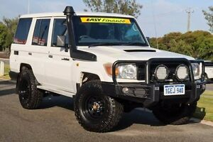 2011 Toyota Landcruiser VDJ76R MY10 Workmate French Vanilla 5 Speed Manual Wagon Mindarie Wanneroo Area Preview