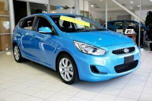 2018 Hyundai Accent RB6 MY18 Sport Blue Lagoon 6 Speed Sports Automatic Hatchback Mount Gravatt Brisbane South East Preview