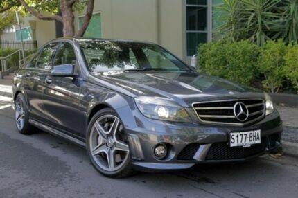 2010 Mercedes-Benz C63  Grey Auto Seq Sportshift Sedan Eastwood Burnside Area Preview
