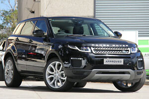 2015 Land Rover Range Rover Evoque L538 MY16 TD4 180 SE Black 9 Speed Sports Automatic Wagon Petersham Marrickville Area Preview