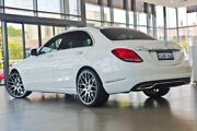 2014 Mercedes-Benz C250 W205 BlueTEC 7G-Tronic + White 7 Speed Sports Automatic Sedan Perth Perth City Area Preview