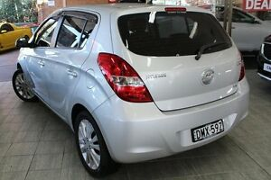 2010 Hyundai i20 PB Premium Silver 4 Speed Automatic Hatchback Roseville Ku-ring-gai Area Preview