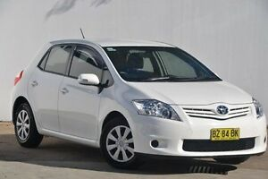 2012 Toyota Corolla ZRE152R MY11 Ascent White 4 Speed Automatic Hatchback Blacktown Blacktown Area Preview