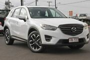 2016 Mazda CX-5 KE1032 Grand Touring SKYACTIV-Drive AWD White 6 Speed Sports Automatic Wagon Gympie Gympie Area Preview