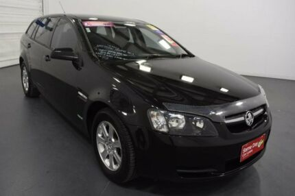 2010 Holden Commodore VE MY10 Omega Black 6 Speed Automatic Sportswagon Moorabbin Kingston Area Preview