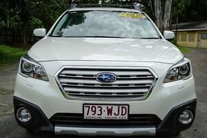 2015 Subaru Outback B6A MY15 2.0D CVT AWD Premium White 7 Speed Constant Variable Wagon Earlville Cairns City Preview
