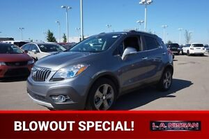 2014 Buick Encore BLACK EDITION Accident Free,  Back-up Cam,  Bl