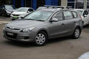2010 Hyundai i30 FD MY10 SX cw Wagon Grey 4 Speed Automatic Wagon