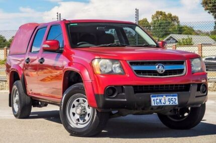2008 Holden Colorado RC LX Crew Cab Red 4 Speed Automatic Utility