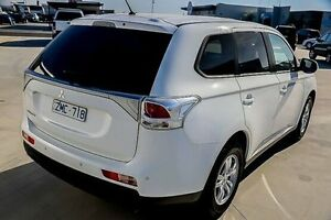 2013 Mitsubishi Outlander ZJ MY13 LS 2WD White 6 Speed Constant Variable Wagon Morwell Latrobe Valley Preview
