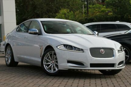 2014 Jaguar XF X250 MY15 Luxury Polaris White 8 Speed Auto Seq Sportshift Sedan Southport Gold Coast City Preview