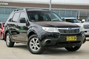 2008 Subaru Forester S3 MY09 X AWD Black 5 Speed Manual Wagon Castle Hill The Hills District Preview
