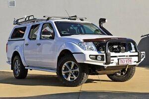 2014 Nissan Navara D40 S7 Titanium White 5 Speed Sports Automatic Utility Yeerongpilly Brisbane South West Preview