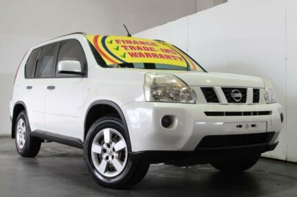 2010 Nissan X-Trail T31 MY10 ST (4x4) White 6 Speed Manual Wagon Underwood Logan Area Preview