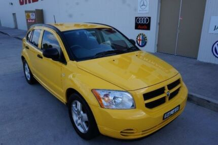 2006 Dodge Caliber PM SX Yellow 5 Speed Manual Hatchback