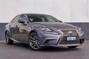 2015 Lexus IS350 GSE31R F Sport Grey 8 Speed Sports Automatic Sedan Maddington Gosnells Area Preview