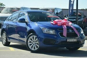 2016 Holden Cruze JH Series II MY16 Equipe Blue 6 Speed Sports Automatic Sedan Thornleigh Hornsby Area Preview